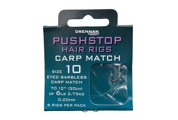 Drennan Pushstop Hrig Carp Match 10