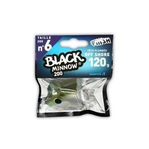 Fiiish Black Minnow 160 Jig Head Kaki - Off Shore 200g