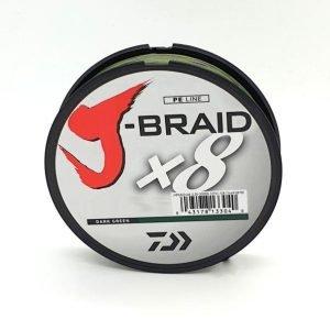 Daiwa J-Braid 0.18 26.5lb 150yd Chart