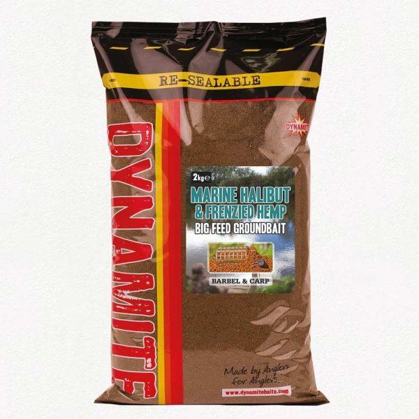 Dynamite Marine Halibut & Frenzied Hemp Ground Bait