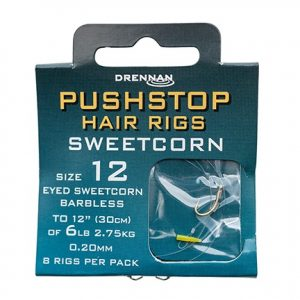 Drennan Pushstop Hrig Sweetcorn 16