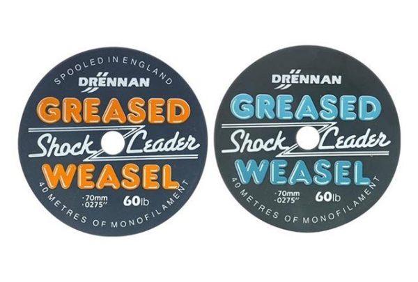 Drennan Greased Weasel 60lb Fluro Orange
