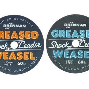 Drennan Greased Weasel 50lb Fluro Orange