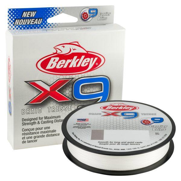Berkley X9 Braid 0.25mm 300m 27kg Crystal