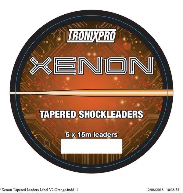 Tronixpro Xenon Tapered Shock 15lb To 60lb Orange