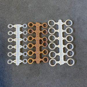 Enterprise Pellet Band Clear 8-12mm