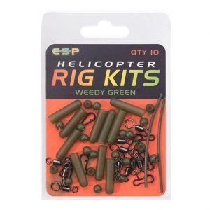 Esp Helicopter Kit Weedy Green Qty10