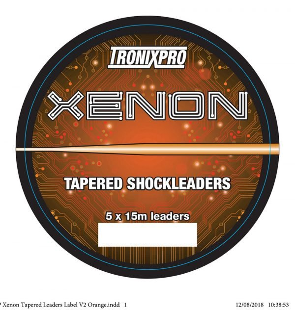 Tronixpro Xenon Tapered Shock 15lb To 50lb Orange