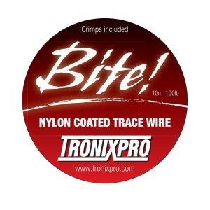 Tronixpro Wire Trace Line W/Crimps 50lb