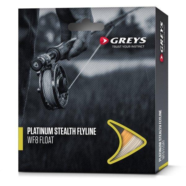 Greys Platinum Stealth Flyline Wf8 Clear Intermediate