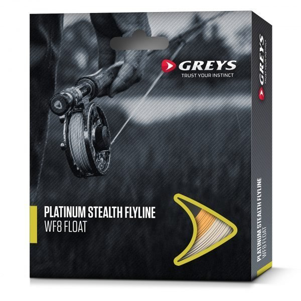 Greys Platinum Stealth Flyline Wf7 Clear Intermediate