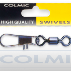 Colmic Rolling Swivel With Interlock Snap Sz 12