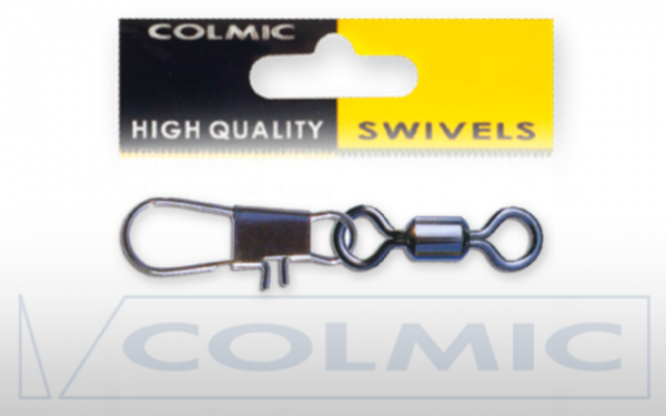 Colmic Rolling Swivel With Interlock Snap Sz 10