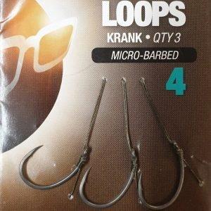 Korda Loop Rig Krank Size 4 Microbarbed