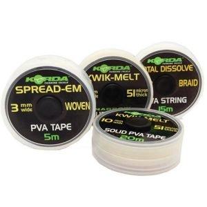 Korda Kwik Melt Pva Double 5mm Tape
