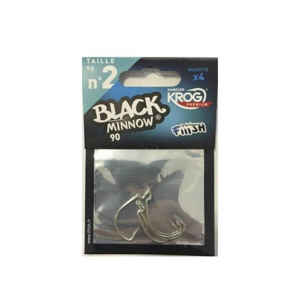 Fiiish Black Minnow 90 Krog Hooks