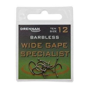 Drennan Wide Gape Barbless Specialist Size 12