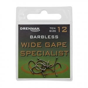 Drennan Wide Gape Barbless Specialist Size 14
