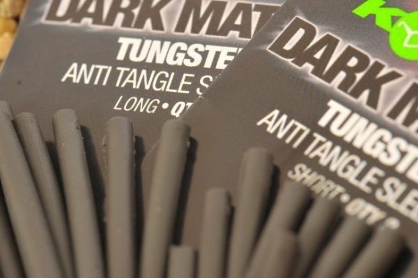 Korda Dark Matter Tungsten Anti Tangle Sleeves Short