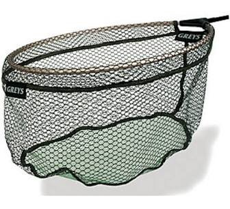 Greys Rubber Mesh Landing Net 18in
