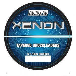Tronixpro Xenon Tapered Shock 15lb To 60lb Clear