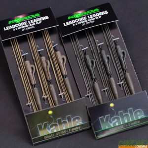 Korda Leadcore Hybrid Lead Clip Gravel QC Swivel