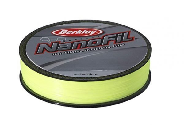 Berkley Nanofil 0.12 270m Hi-Viz Chart