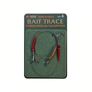 Drennan E-Sox Semi Barbed Bait Trace Size 4