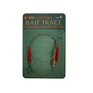 Drennan E-Sox Semi Barbed Bait Trace Size 6