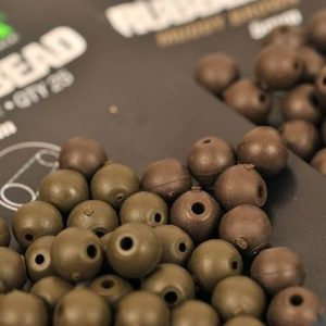 Korda Rubber Bead 4mm Brown