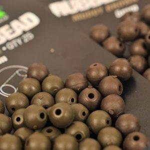 Korda Rubber Bead 4mm Brown