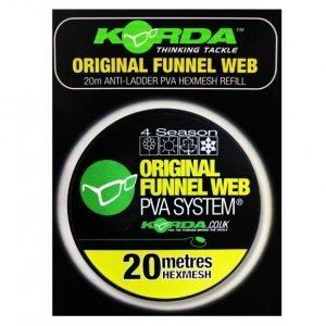 Korda Funnel Web Original Hexmesh 20m Refill