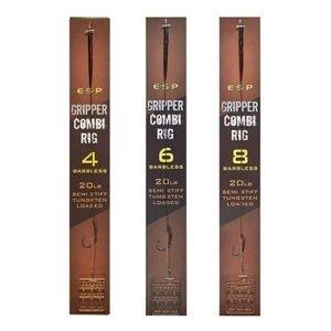 Esp Gripper Combi Rig Barbless 8 Brown
