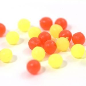 Tronixpro Round Beads Max Packs Yel/Red