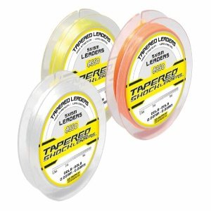 Asso Tapered Shock Leader 15-60lb Yellow