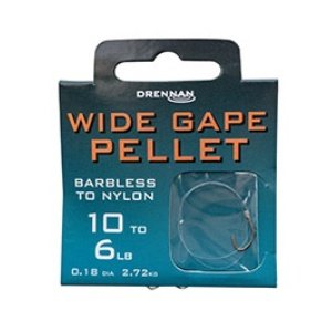 Drennan Barbless Widegape Pellet 16 To 3.8lb