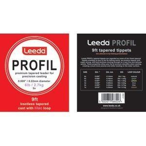 Leeda Profil Clear Braided Leader Loops
