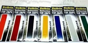 Asso Visibrite Relfective Tip Tape Red