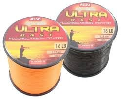 Asso Ultra Cast Fluoro Coated Black 16lb
