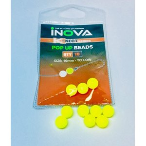 Inova Pop Up Floating Beads Yellow 10mm