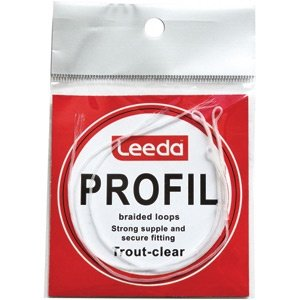 Leeda Profil Clear Braided Leader Loops