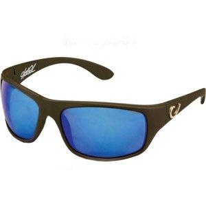 Mustad Sunglasses Black Frame Blue Revo Lens