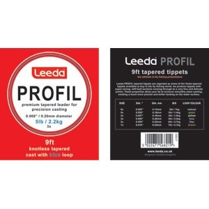 Leeda Profil Casts Dryfly 5lb