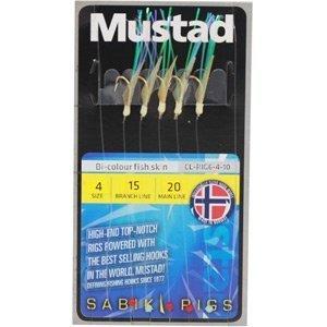 Mustad Sabiki Bi- Colour Fish Skin Size 6