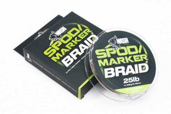 Nash Spod / Marker Braid 25lb Green
