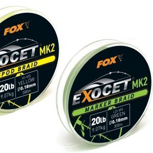 Fox Exocet Mk2 Marker Braid 20lb