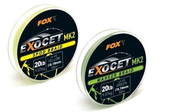 Fox Exocet Mk2 Marker Braid 20lb