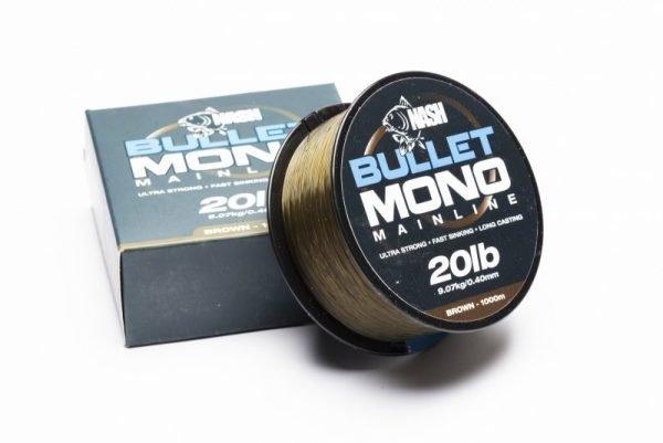 Nash Bullet Mono 12lb Green