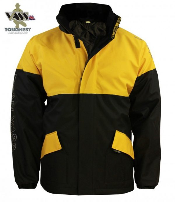 Vass 350 Winter Jacket Black/Yellow Large