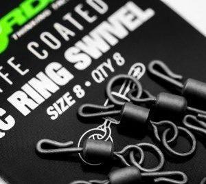 Korda PTFE QC Ring Swivel Size 8